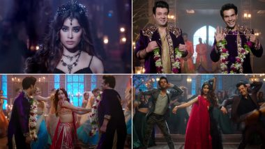 Roohi Song Panghat: Janhvi Kapoor's Charming And Spooky Avatars In This Catchy Number With Co-Stars Rajkummar Rao And Varun Sharma Will Leave You Speechless (Watch Video)