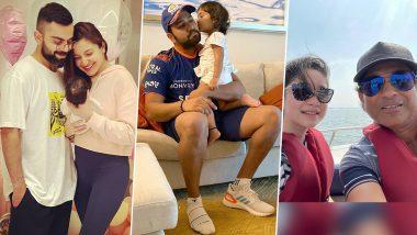 Virat Kohli-Vamika, Rohit Sharma-Samaira, Sachin Tendulkar-Sara: Meet Adorable Cricketer Daddies and Their Daughters