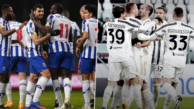 How To Watch Porto vs Juventus, UEFA Champions League 2020–21 Live Streaming Online in India? Get Free Live Telecast of Round of 16 Match & Football Score Updates on TV