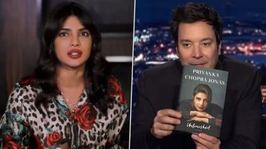 Priyanka Chopra Jonas Shares an Emotional Story Behind Her 'Daddy's Little Girl' Tattoo On 'The Tonight Show' Starring Jimmy Fallon (Watch Video)