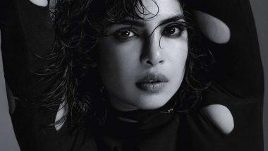Priyanka Chopra Looks Ravishing in Monochrome Photoshoot for Elle UK's March 2021 Issue