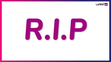 Jugal Kishore Bagri Dies: Madhya Pradesh BJP MLA Passes Away Due to Heart Attack