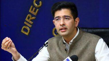 'Rakhi Sawant of Punjab Politics': Raghav Chadha Hits Out at Navjot Singh Sidhu After He Criticises AAP Govt Over Farm Laws (Read Tweet)