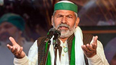 Farmers' Protest: Uttar Pradesh To Be Next Stop for Farmers' Agitation, Says Rakesh Tikait