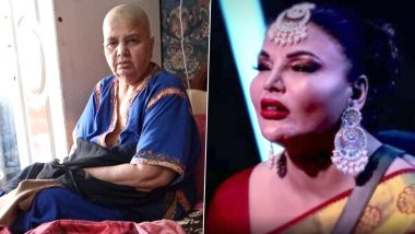 Rakhi Sawant Urges Everyone To Pray for Her Mother Jaya Who Is Undergoing Cancer Treatment (View Pics)