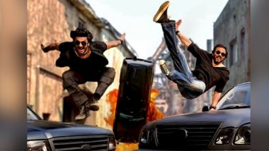 Ranveer Singh and Rohit Shetty Get Cars Flying and Burning in Their Latest Action-Packed Commercial (View Pic)