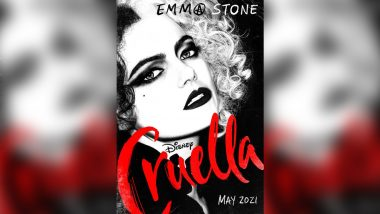 Cruella Poster: Emma Stone Is Absolutely Unrecognizable as her First Look from Walt Disney Film is Officially Out
