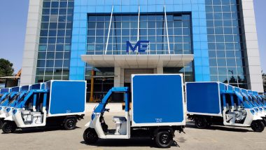 Around 100 Mahindra EVs Deployed by Amazon to Its Delivery Fleet