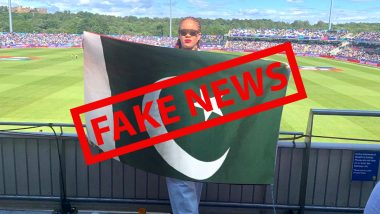 Fact Check: Picture Showing Rihanna Holding Pakistan National Flag Shared on Social Media After Singer Tweets on Farmers Protest, Know Truth About the Viral Image