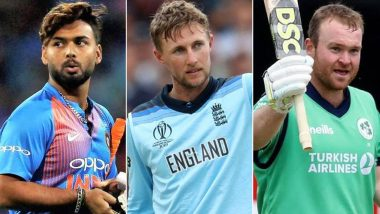 ICC Men's Player of the Month Awards: Rishabh Pant, Joe Root and Paul Stirling Nominated for January