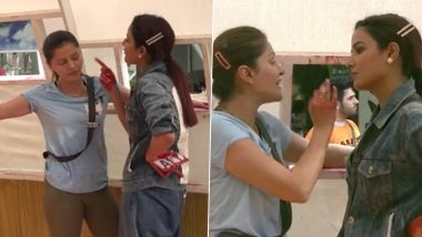 Bigg Boss 14: Jasmin Bhasin and Rubina Dilaik Get in Ugly Catfight During the Ticket to Finale Task (Watch Video)
