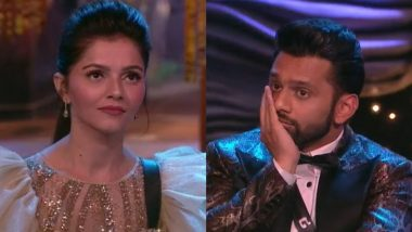Bigg Boss 14 Finale: Rubina Dilaik Lifts the Winner's Trophy, Beats Rahul Vaidya!