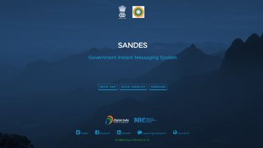 Sandes App: Know Everything About the Government of India's Instant Messaging Platform