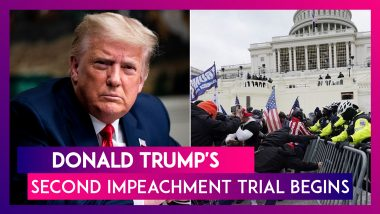 Donald Trump's Second Impeachment Trial Begins In US Senate, Republicans Signal Likely Acquittal