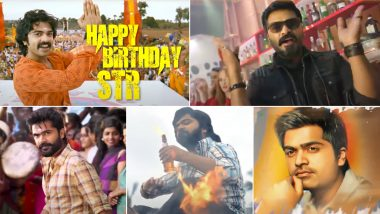 On Silambarasan TR's Birthday Team Pathu Thala Release A Special Video Highlighting The Actor's Journey In Tamil Cinema!