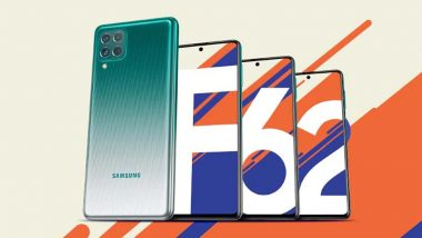 Samsung Launches New Galaxy F62 Model; Check Expected Price, Features, Specification and More