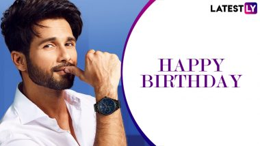 Shahid Kapoor Birthday: Popular Dialogues Of The Bollywood Actor As He Turns 40!