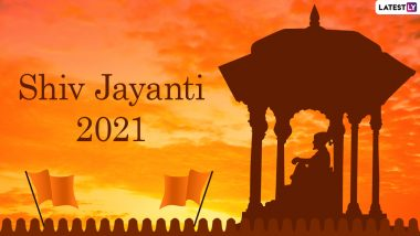 Chhatrapati Shivaji Maharaj Jayanti 2021 Wishes and WhatsApp Stickers: Facebook Messages, Signal Quotes and Shiv Jayanti Telegram HD Images to Send on His Birth Anniversary