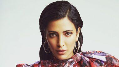 Shruti Haasan Says She Secretly Dances to Nineties Music for Hours