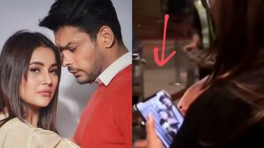 Shehnaaz Gill's Phone Wallpaper Is a Photo of Hers With Sidharth Shukla and Their Fans Are Going Crazy!