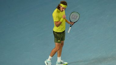 Stefanos Tsitsipas vs Pedro Martinez, French Open 2021 Live Streaming Online: How to Watch Free Live Telecast of Men's Singles Tennis Match in India?