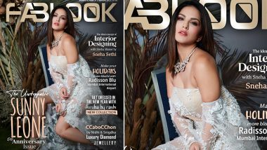 Sunny Leone Demands Your Attention As She Looks Sensuous on the Latest Edition of Fablook Magazine (View Pic)