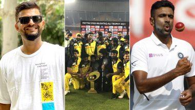 Suresh Raina, Ravi Ashwin & Others From Cricket Fraternity Lavish Praises on Tamil Nadu as the Dinesh Karthik-Led Side Wins Syed Mushtaq Ali Trophy 2021