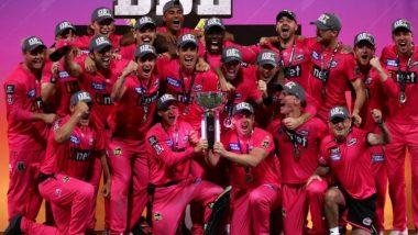 Sydney Sixers Beat Perth Scorchers by 27 Runs to Win Second Successive Big Bash League Title