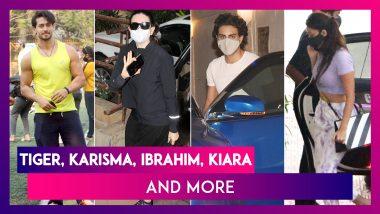 Tiger Shroff Displays Stunning Football Skills; Karisma Kapoor, Babita Kapoor & Ibrahim Ali Khan Visit Kareena Kapoor & More