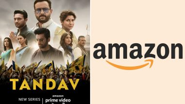 Tandav Row: Amazon Prime Video Issues Apology for Hurting Viewers' Sentiments Over Objectionable Scenes in Saif Ali Khan's Series