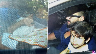 Kareena Kapoor Khan And Saif Ali Khan Head Home With Their Newborn! Pics Of Taimur And His Baby Brother Go Viral