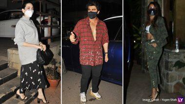 Karisma Kapoor, Arjun Kapoor, Malaika Arora And Others Visit Kareena Kapoor Khan And Her Newborn At The Actress' Home! (View Pics)