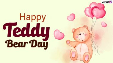 Happy Teddy Day 2021 Wishes for Girlfriend: WhatsApp Stickers, Cute Teddy Quotes, Telegram Messages, Signal HD Images and Facebook Greetings to Celebrate Valentine Week