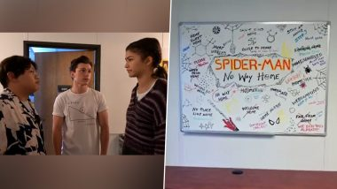 Spider-Man - No Way Home: Tom Holland Reveals the Real Title of His Marvel Movie After Teasing Fans (Watch Video)