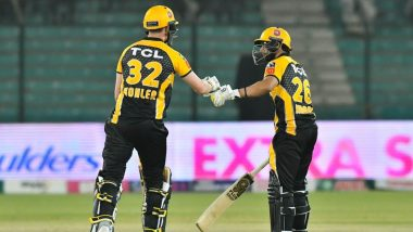 PZ vs MS, PSL 2021 Match Result: Tom Kohler, Haider Ali Lead Peshawar Zalmi to Thrilling Win Over Multan Sultans