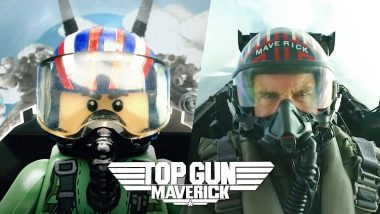 Top Gun: Maverick Official Trailer in LEGO; OnBeatMan - A LEGO Stop Motion YouTube Channel Creates Exact Frame by Frame Video