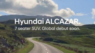Hyundai To Launch Alcazar To Enter 7-Seater Premium SUV Segment in India This Year