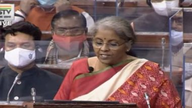 Budget 2021-22: No Income Tax Return Filing For Senior Citizens Above 75 Years Having Only Pension, Announces FM Nirmala Sitharaman