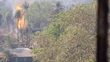 Fire in Mumbai: Multiple Gas Cylinder Explosions at Stock Yard at Yari Road After Blaze, 4 Injured
