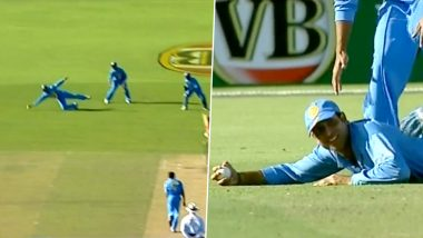 VVS Laxman Calls This One-Handed Stunner the Best Catch of His Career (View Post)