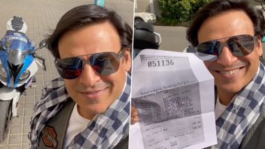 Vivek Oberoi Joins the Viral 'Pawri Hori Hai' Trend, Shares Quirky Video After Paying E-Challan to Mumbai Police