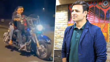 Vivek Oberoi Booked for Not Wearing a Face Mask While Riding Motorbike With Wife on Valentine's Day