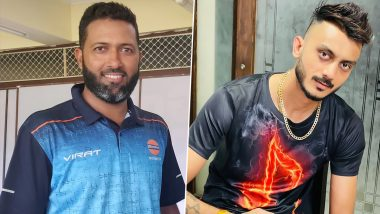 Wasim Jaffer Congratulates Axar Patel on Getting His Name Engraved on Honours Board of Narendra Modi Stadium After Five-Wicket Haul, Spinner Responds