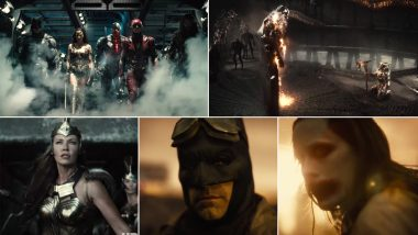 Zack Snyder's Justice League Trailer: Batman, Superman, Wonder Woman and Other DC Superheroes Team Up for Some Action, Joker Adds Hint of Evil (Watch Video)