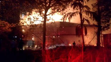 Mumbai Fire: Blaze Erupts in Mulund's Modella Colony, No Casualties Reported