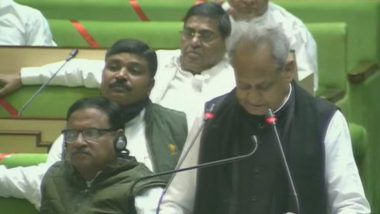 Rajasthan Budget 2020-21: Separate Agriculture Budget Will Be Presented from 2022, Says CM Ashok Gehlot