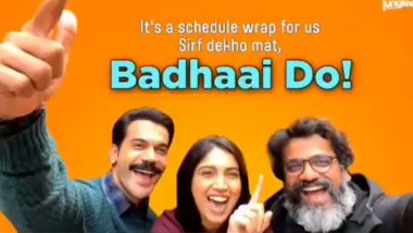 It's 'Pawri' Time On Badhaai Do Sets! Rajkummar Rao, Bhumi Pednekar And Team Wrap Up First Shooting Schedule Of Harshavardhan Kulkarni's Film (Watch Video)