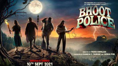 Bhoot Police Release Date Out! Saif Ali Khan, Arjun Kapoor, Jacqueline Fernandez, Yami Gautam's Film To Hit Theatres On September 10