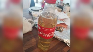 Urine in Coke Bottle: HelloFresh UK Customer Disgusted After Receiving 'Bottled Up Piss' as Part of Food Order, Meal-Kit Company Apologises As Pic Goes Viral