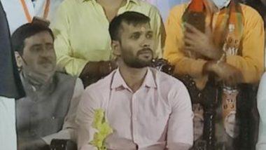 Ashok Dinda, Former Cricketer, Joins BJP in Kolkata